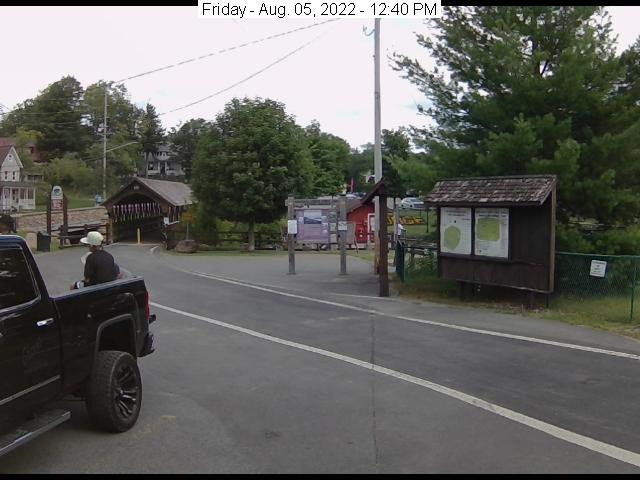 Scenic webcam live from Old Forge New York.